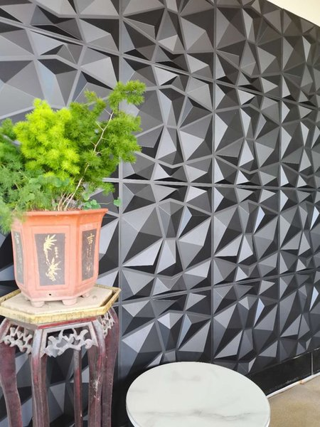 Spa Fire-resistant covering Panel decorativo No bad smell pvc wall boardwall panel 3d pvc wall home decoration wall tiles embossed in design design 3d pvc wall board embossed in design