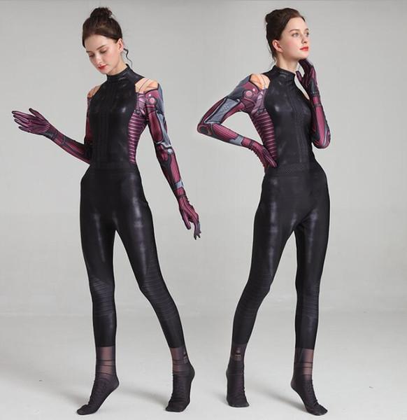 Halloween costumes cosplay sexy femmes Alita bataille ange vêtements boysuit super héros thèmes enfants filles fantaisie bande dessinée performance porter manteau