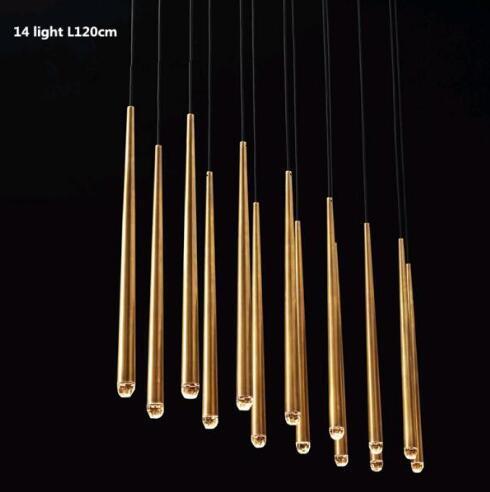 14 ışık çizgisi L 120 cm
