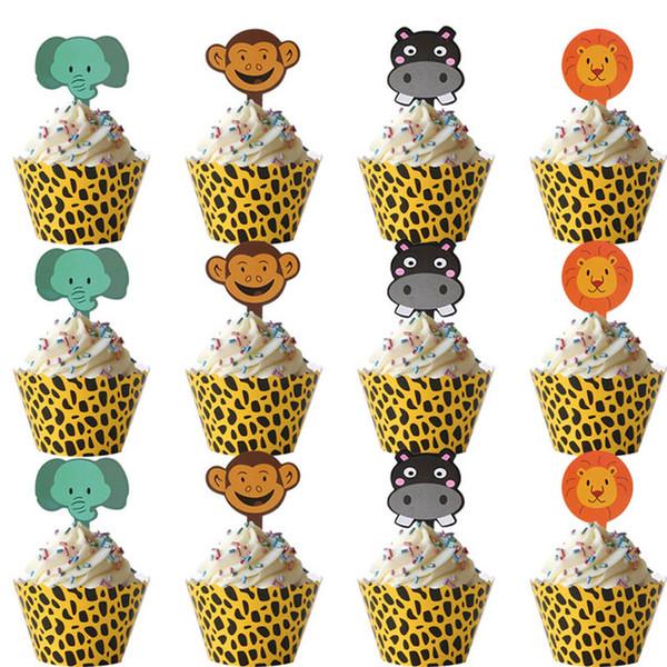 12sets décor de gâteau