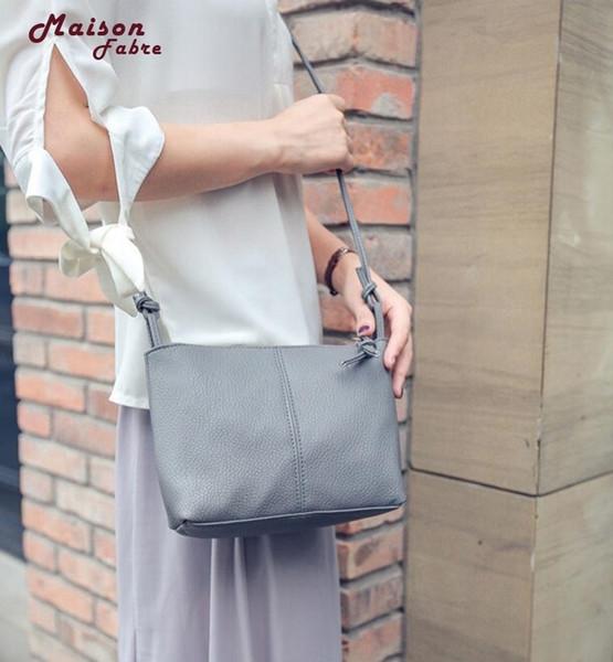 Cheap Maison Fabre 2018 Women Shoulder Bag Leather Clutch Handbag Tote Purse Hobo Messenger Bags Dropshipping Mar13