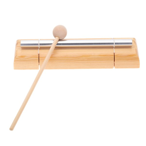 top popular Hot New High Quality Percussion Instrument Energy Chime Single Tone with Mallet Exquisite Kid Children Musical Instrument Toy 2021