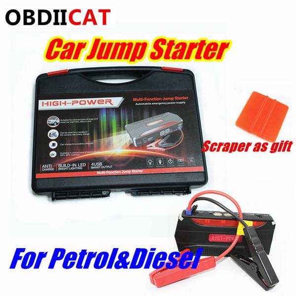 Car Jump Starter Power Bank 12V Portable Starter Hot Sale Multi-function 600A Car Charger Jumper Battery