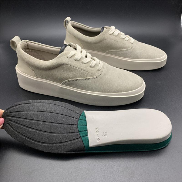 Страх Божий 101 дизайнер Повседневная обувь Италия Эра 95 месть X шторм старый Skool Vetements VisVim скейтбординг скольжения на туман кроссовки с 8AG