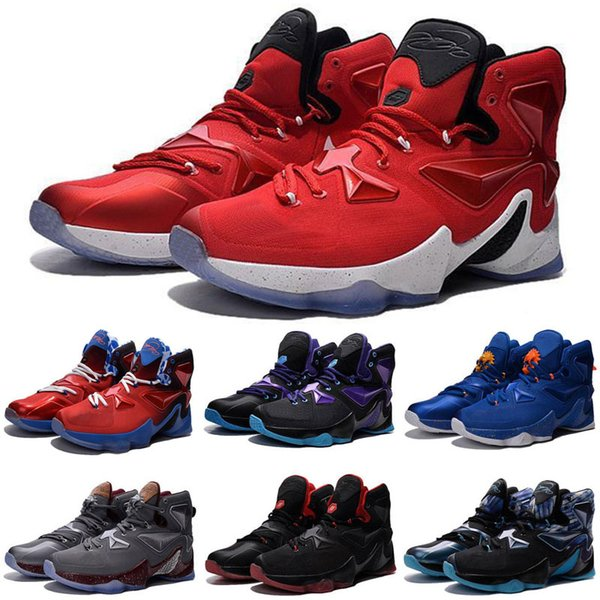 newest collection 103a6 44ff3 Cheap New Lebron 13 XII Kids Basketball Shoes Doernbecher DB BHM Christmas  White Red Black Halloween Easter Easter Kids Sneakers For Sale Toddlers ...