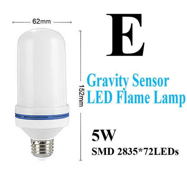 E-استشعار خطورة LED الشعلة مصباح