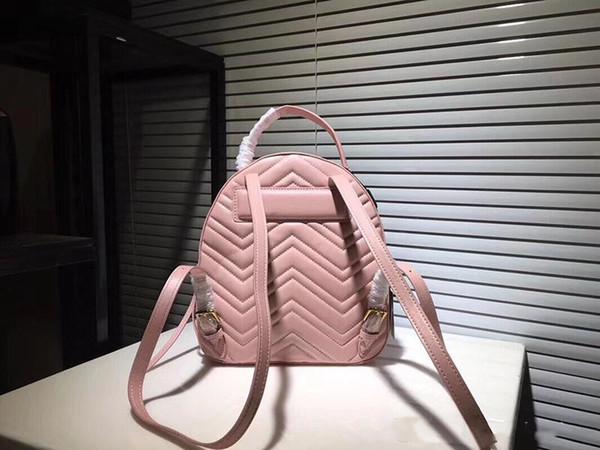 2019 Fashion new products luxury Marmont bag Backpack pearl studds rucksack bag 476671 knapsack MESSENGER