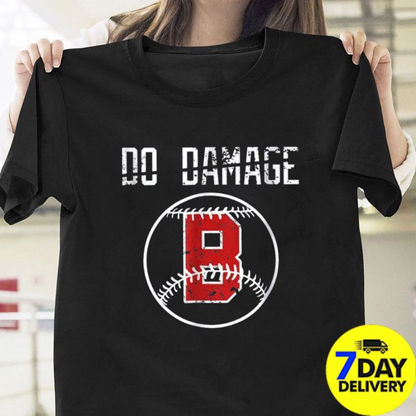 on sale 6d058 4e632 Do Damage Boston Redsox Baseball Fans T Shirt Black Cotton RedSox Damage  Done Quirky T Shirt Designs Purchase T Shirt From Integritybusiness59, ...