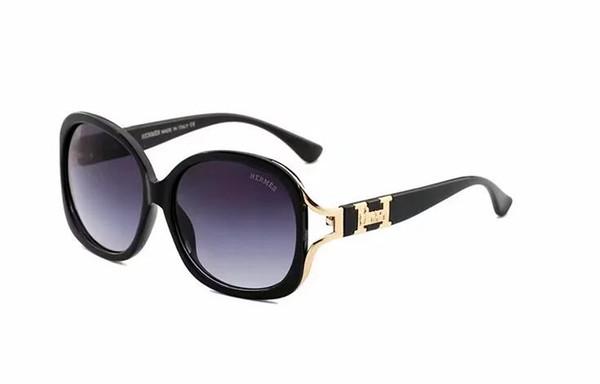 Round Metal Sunglasses Designer Gold Flash Glass Lens For Mens Womens Mirror Sunglasses Round unisex sun glasse free shipping9089