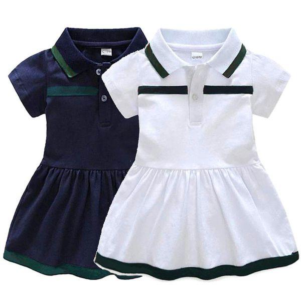 Baby Girl Dress Summer Dress Cotton Baby Girl Clothes Newborn Dress 9-36 Months Y19050801