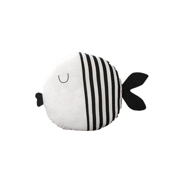 Fashion Soft PP Cotton Indoor Car Decorative Shaped Fish Plush Striped, Polka Dot Pillow > 3 Years Old
