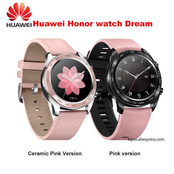Huawei orologio onore sogno SmartWatch 1.2 pollici AMOLED touchscreen monitoraggio della frequenza cardiaca BT4.2 GPS BLE 5ATM waterproof
