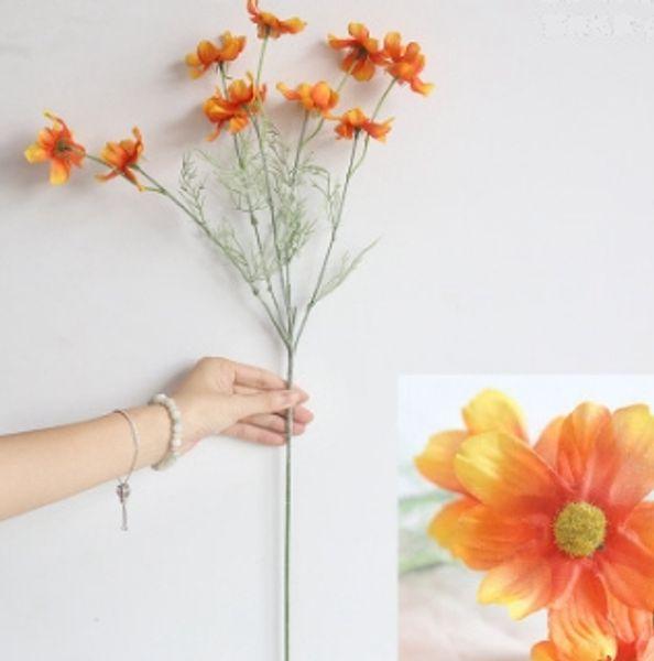 Fleur de chrysanthème en soie n ° 4