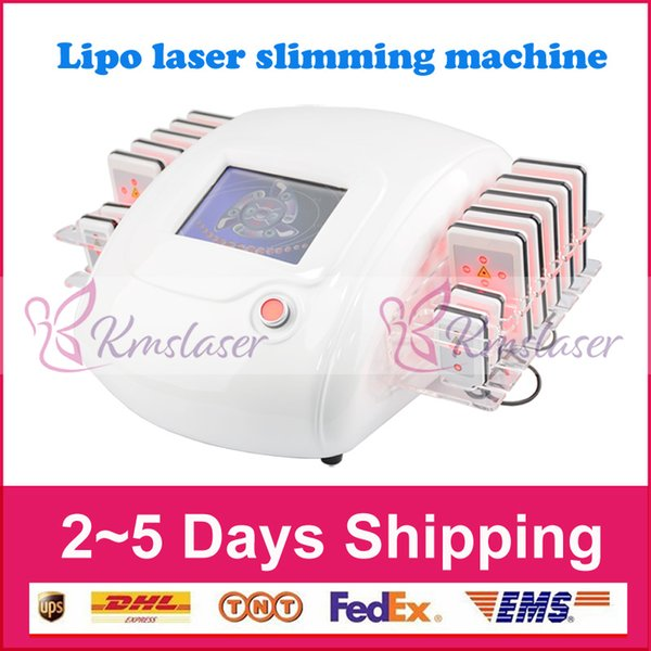 Diode Lipo Laser LipoLaser Slimming Equipment Fast Fat Burning Remover Body shaping zerona laser weight loss machine (14pcs paddles)