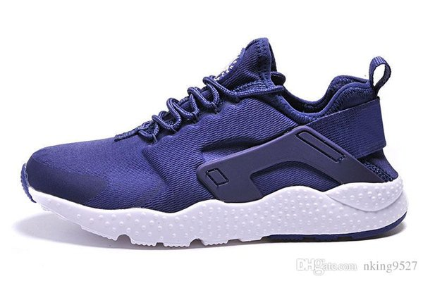 low priced a505d 3114a Top Grade A For HOT New Air Huarache 3 III Casual Shoes Black White Red  Leather High Quality Sneakers Huaraches Sport Shoes 36 45 Purple Shoes  Scholl ...