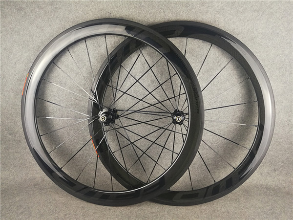 BoB Black on Black FFWD 38-50-60-88mm carbon wheels carbon bicycle wheelset 700C 3K Glossy With 23mm width Novatec A271 hubs free shipping