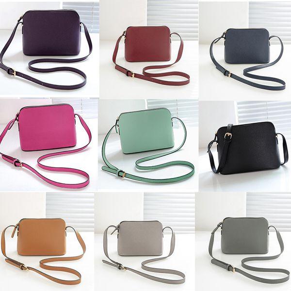 brand designer new arrive purse Shoulder Bag Shell Bags Crossbody Fashion Small Messenger Bag Handbags PU Leather