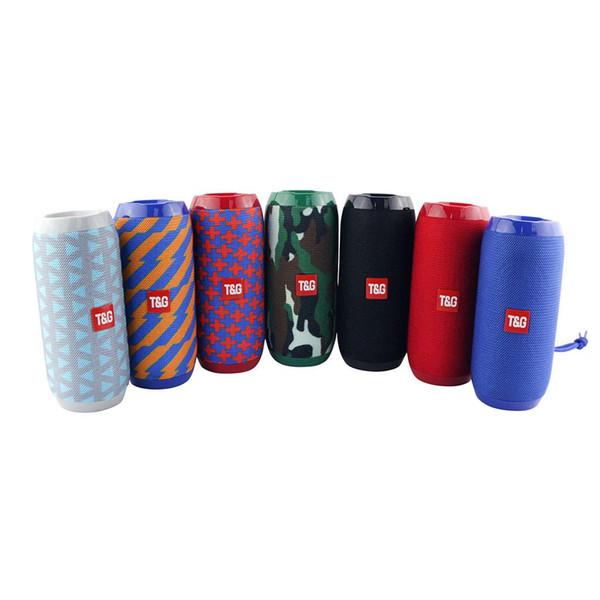 TG117 Bluetooth Haut-parleurs Portable Haut-parleur Double Corne Extérieure Étanche Subwoofers Haut-parleurs Sans Fil Soutien TF Carte FM Radio