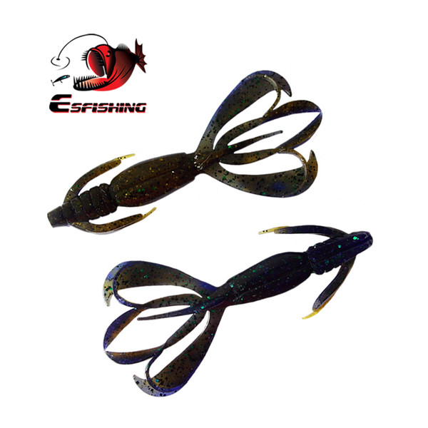 """Soft Fishing Lures Soft Lure Pesca Silicone Bait 5pcs 11cm 11.5g Crazy Flapper 4.4""""carp Wobblers For Fishing"""