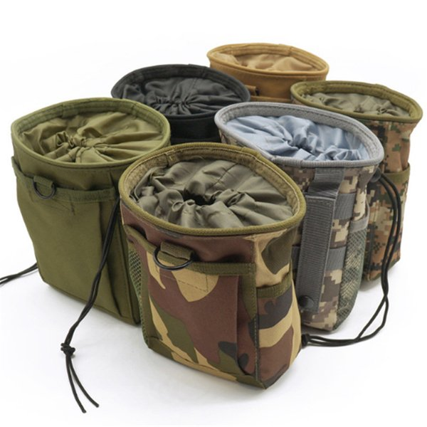2019 Molle System Molle Dump Magazine Pouch Hunting Recovery Bag Drop Pouch Accessories