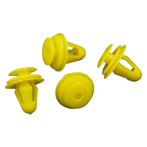Front Rear Door Panels Garnish Fixed Snaps Fastener Yellow Plastic Fastener Clips Retainers For All Car Universal