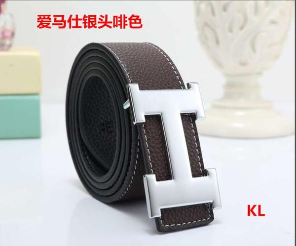 2020 Hot cinture di lusso designer cinture per uomini fibbia della cintura maschile cinture di castità mens moda superiore della cinghia di cuoio di trasporto - 14