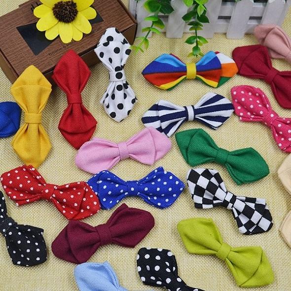 Mode Fliege für Baby Jungen Einstellbare Baumwolle Fliegen Kinder Jungen Krawatten Dünnes Hemd Zubehör Bankett Bogen Marke