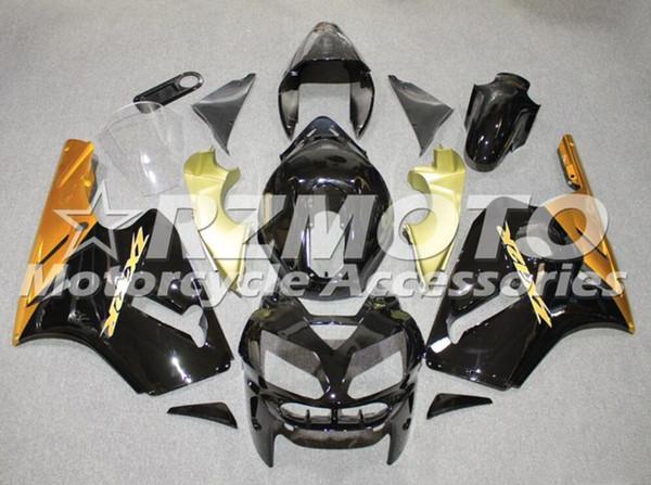 3 Geschenke Heiße neue ABS Motorrad Verkleidung Kit für Kawasaki Ninja 636 ZX6R 2005 2006 Motorrad Verkleidung Körper benutzerdefinierte schwarz