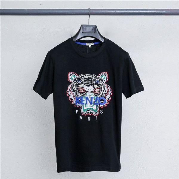 2019 yaz yeni erkek ve kadın T-shirt yuvarlak boyun baskı kısa kollu Tişört ücretsiz shipping2119