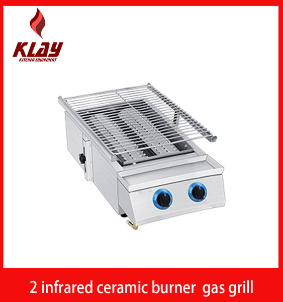 2019 Stainless Steel 2 Infrared Ceramic Burner Gas Bbq Barbeque Grill From  Roasterexperts01, $94 98   DHgate Com