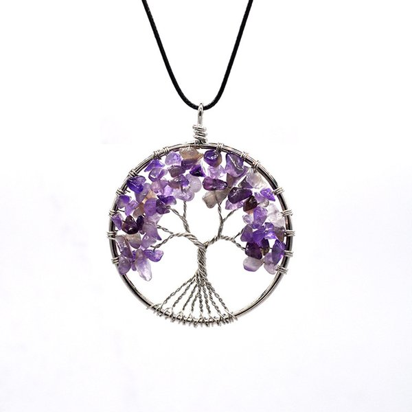 Tree of Life Pendant Necklace 14