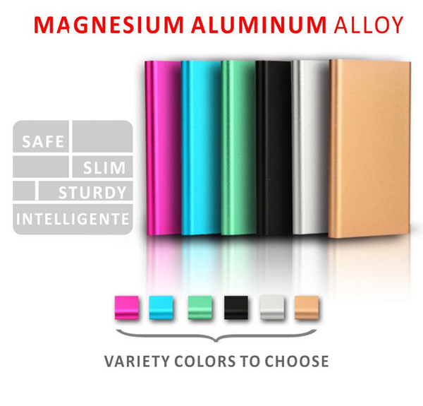 New Style 10000mAh Power Bank External Battery With LED Portable Power Banks Charger For iPhone Samsung Android Retail Box