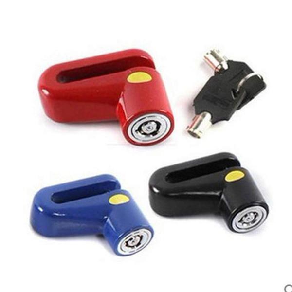 Bicycle Disc Brake Lock Mountain Bicycle Security Anti-theft Lock Bike Mini Key For Motorcycle Electric Vehicle