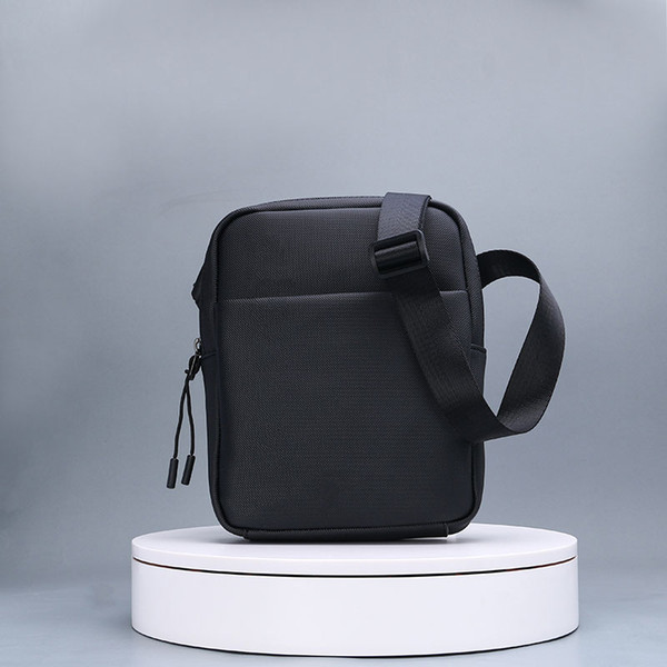 top popular Code 1279 Fashion PVC Men Messenger Bag Famous Brand Man Shoulder Bag Designer Male Cross Body Bags High Quality 2020