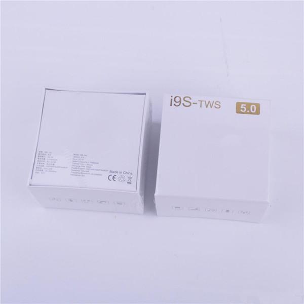 i9s tws sem fio bluetooth fones de ouvido pop-up janela ture stereo 5.0 fones de ouvido fones de ouvido com carregador magnético caso protetor de silicone