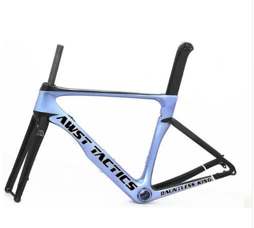2019 vis TOP carbon road bike frame bicycle racing bike frameset + handlebar disc brake carbon fibre framesee made in taiwan framework