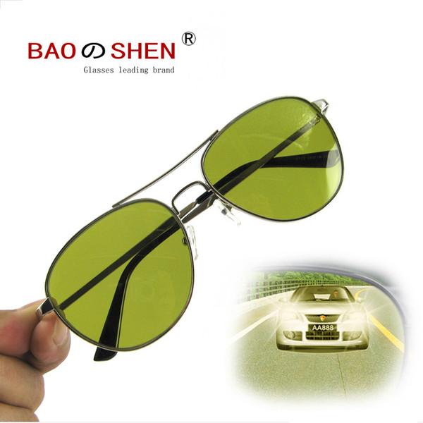 54765a052e8c yellow Night Vision Goggles Polarized sunglasses Day and night Driver  glasses Anti-glare Anti-