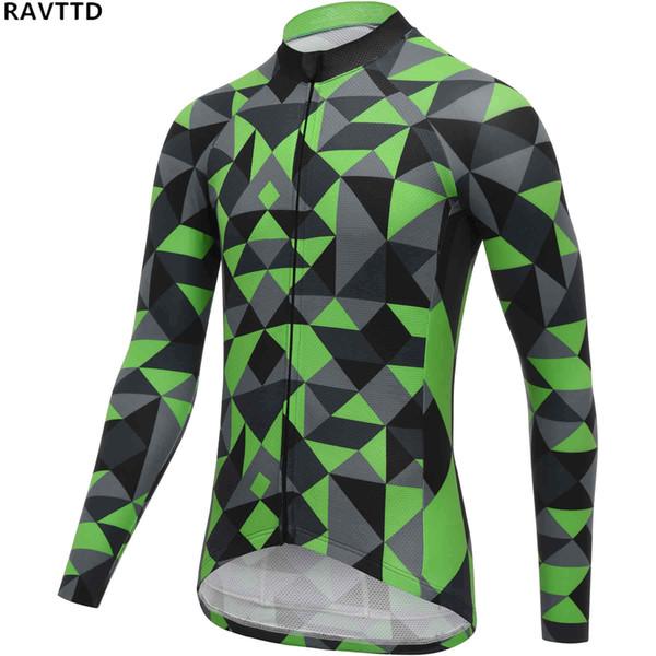 Cycling Jersey Winter Thermal Fleece Cycling Clothing Bicycle Sportswear Long Sleeve Bike Wear