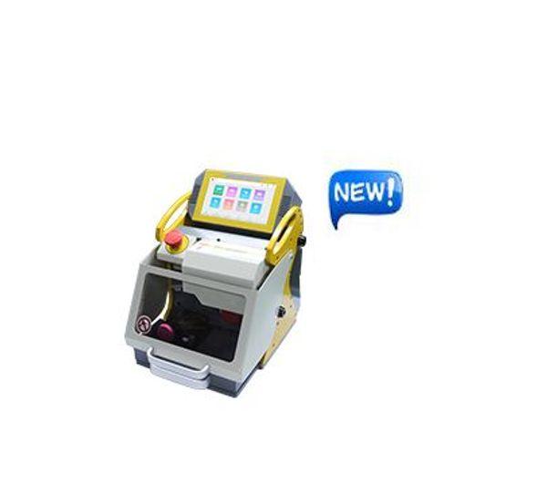 2019 DHL Free Shipping 8.3 Inch automatic key cutting machine SEC-E9 CNC Automatic Key Cutting Machine