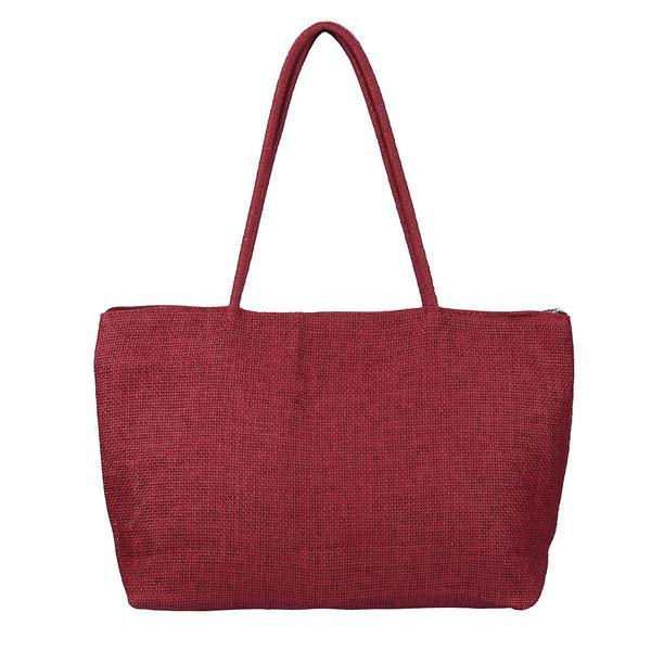 Cheap Fashion Women Casual Shoulder Bag Pacote Vintage Straw Beach Handbag Sac Casual Female Tote Bags Bolsos Paquete #