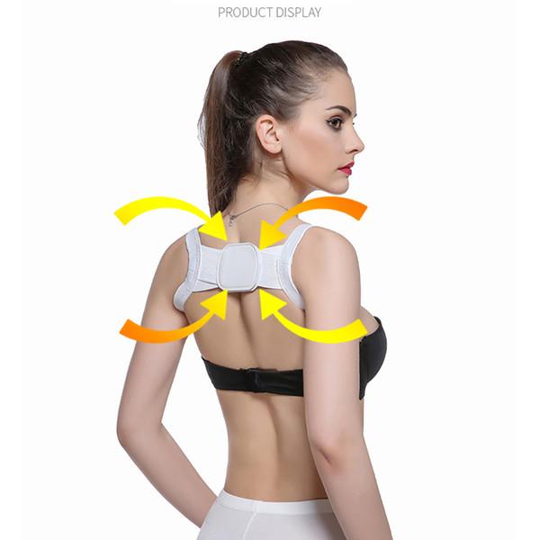 Удобный корректор осанки ключицы позвоночника назад плечо скобки поддержки пояса продукт рельеф шеи боли тела DeviceW5