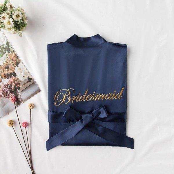 Bridemaid Navy Blue