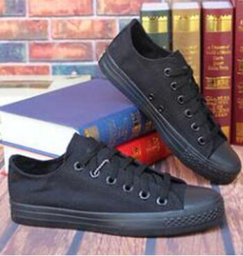 New canvas shoes men and women skateboard shoes women couple casual students fashion popular step shoes