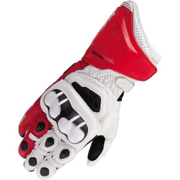 Moto GP Motorcycle Air Leather Long Gloves Team Race Motocross Gloves