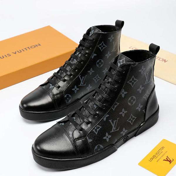 Nuevos zapatos para hombre Botas High-Top Chaussure Pour Homme Botines de moda Zapatos para hombre Zapatos de hombre Offshore Match-Up Sneaker Boot Hot Sale