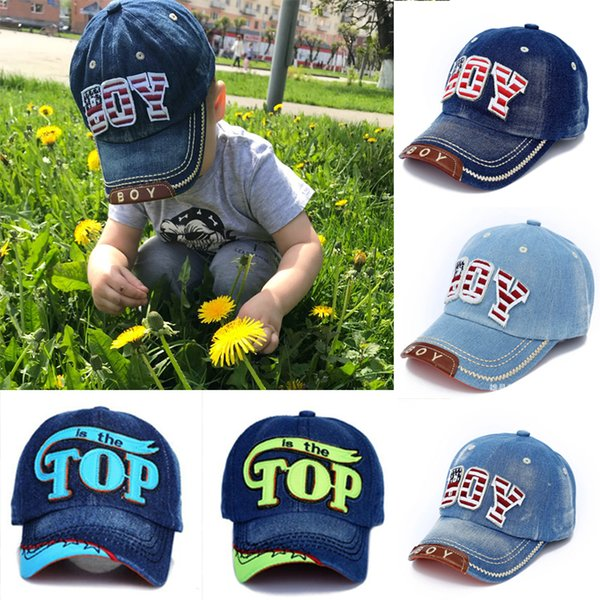 TOP BOY Baby Baseball Caps kids Snapback Hip Hop Cap Boys Girls Summer Sun Hats gorras planas enfants casquette gorras czapka