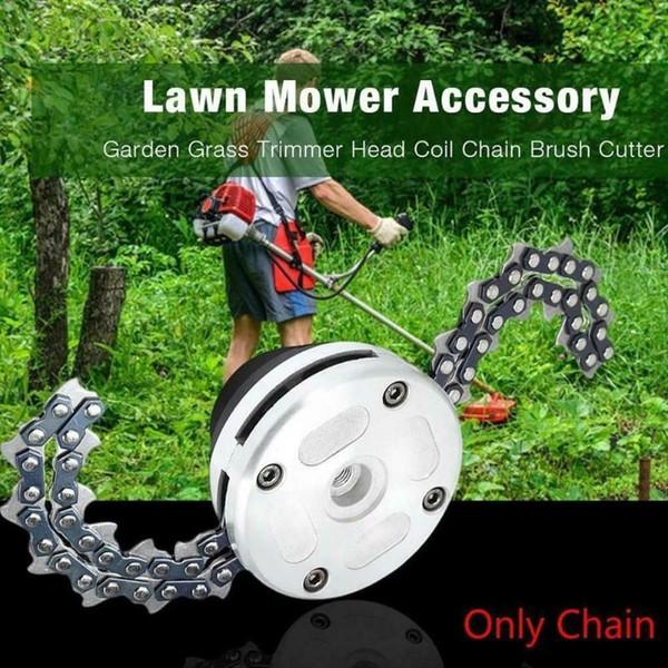 best selling Universal Trimmer Head Chain Brushcutter Garden Grass Trimmer with Thickening Chain for Lawn Mower Garden Tools Part