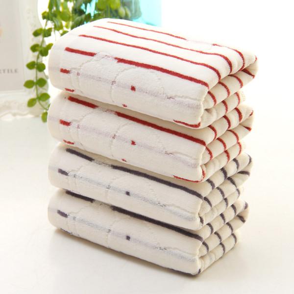 Soft Cotton 32 Yarns towel cut velvet thick rabbit Jacquard wash face Healthy towel ( 3 PCS )
