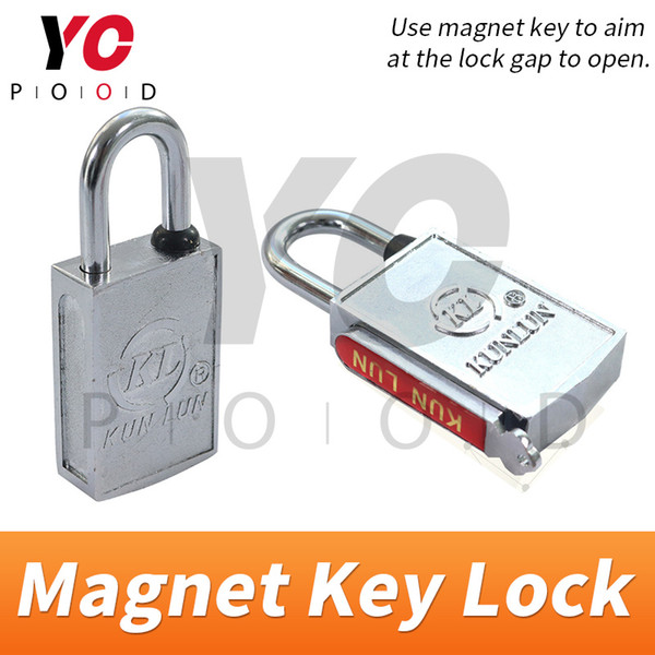 Magnet Key Lock Escape Room Spare Parts installed on door or box or other places Takagism game supplier YOPOOD