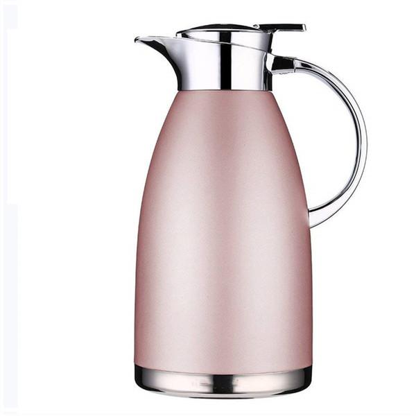 Große Kaffeekanne 2,3 Liter Tee-Thermosflasche Große Reiseflasche Edelstahl Vakuumisolierte Wärmekaraffe Hot Drink Carrier Container